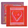 Перейти на страницу товара Фотоальбомы Innova 200 фото 10*15 Memo Glitter Hearts